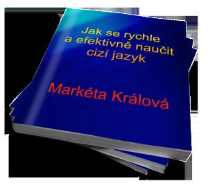 Cover e-book, jak se rychle aefektivně naučit jazyk