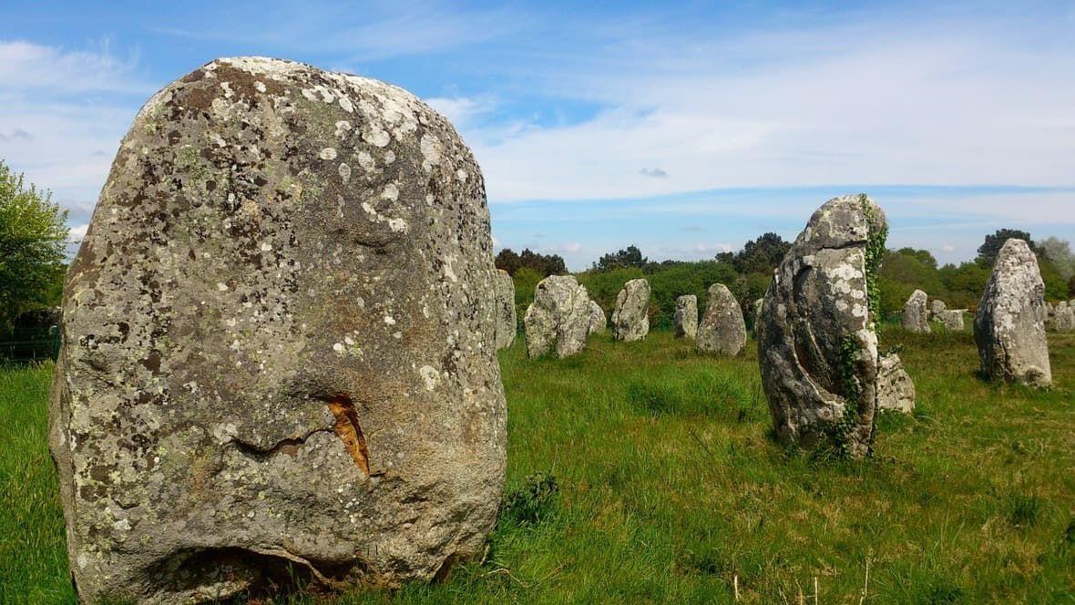 Manuál nacesty - Bretagne, vesnička Carnac