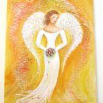 Jak jsme bohatí, namalovaný obraz - nevěsta