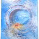 Jak jsme bohatí, namalovaný obraz - voda
