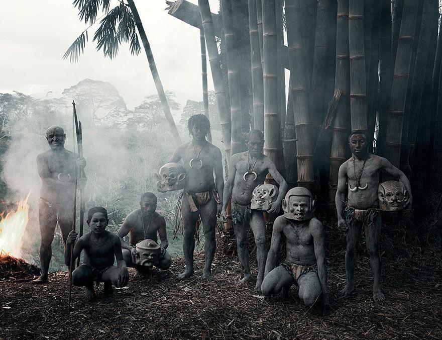 Papua Nová Guinea - kmen Asaro