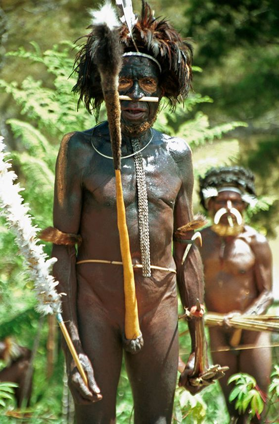 Papua Nová Guinea - kmen Daniu