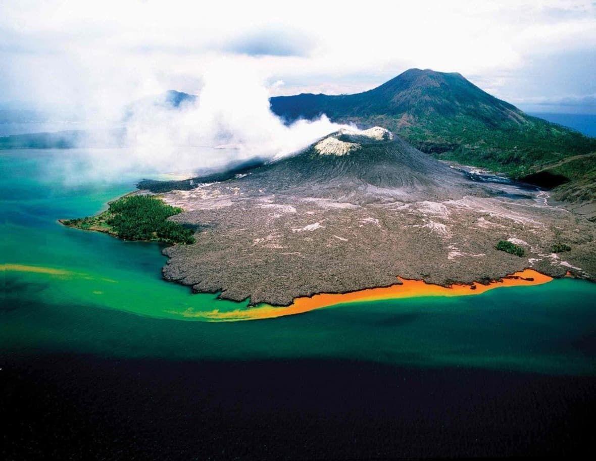 Papua Nová Guinea ostrov